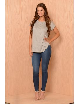 soft-comfort-tee---heather-grey by fashion-nova