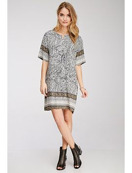 abstract-print-tunic-dress by forever-21