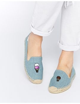 soludos-jason-polan-ice-cream-chambray-espadrille-flat-shoes by soludos