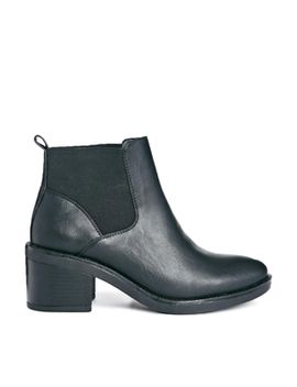 truffle-bree-chelsea-heeled-ankle-boots by shoes