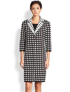 grid-knit-jacket by st-john