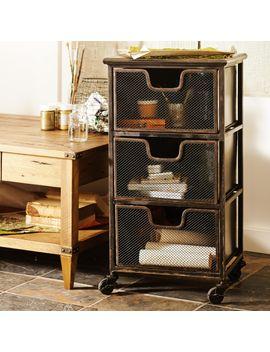 espresso-austin-3-drawer-cart by world-market