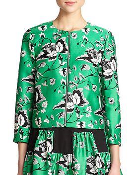gabrielle-wool-&-silk-jacket by diane-von-furstenberg