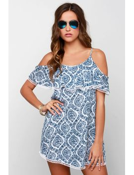 time-on-my-seaside-blue-print-dress by lush