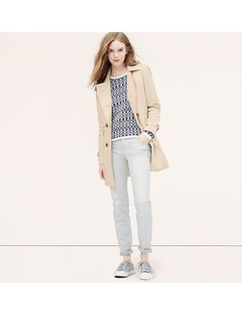 petite-cotton-twill-trench by loft