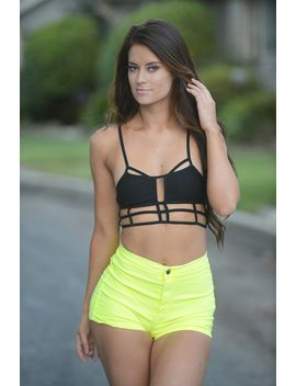 highlight-my-shorts---yellow by fashion-nova