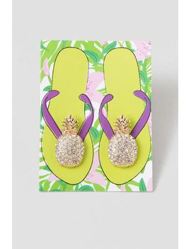 pineapple-shoe-clips by francescas