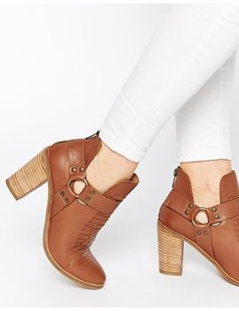 asos-eldorado-street-weave-leather-cut-out-leather-ankle-boots by asos-collection