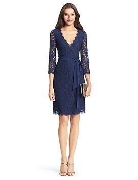 dvf-julianna-lace-wrap-dress by dvf