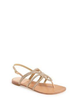 thongshow-crystal-embellished-thong-sandal by stuart-weitzman