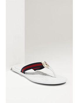logo-flip-flop-sandal by gucci