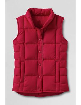 womens-down-vest by lands-end