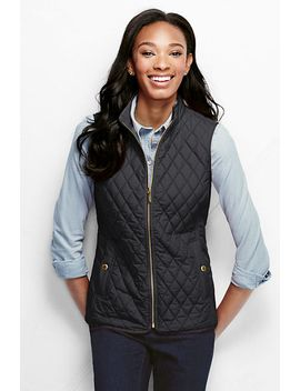 womens-quilted-primaloft-vest by lands-end