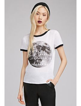 moon-graphic-ringer-tee by forever-21
