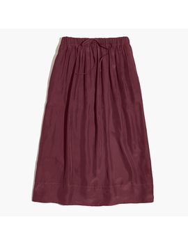 silk-sunset-skirt by madewell
