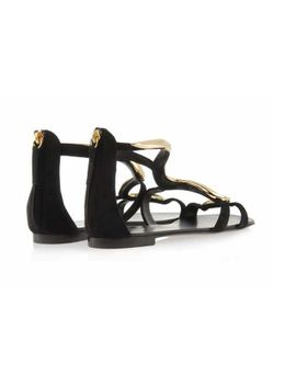 genuine-leather-black-stiletto-gz-sandal-luxury-gz-high-heels--suede-gold-snake-high-heels-_-flat-lady-sandals by ali-express