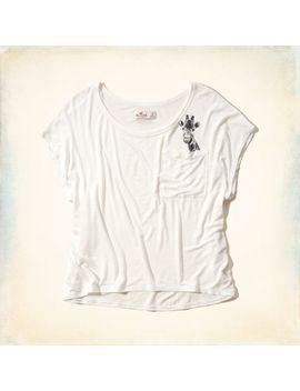 giraffe-pocket-graphic-tee by hollister
