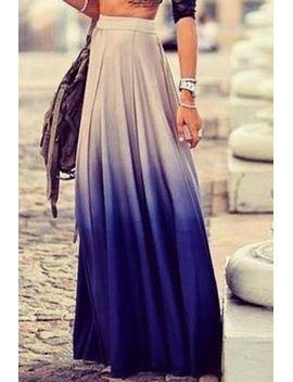 stylish-womens-ombre-skirt by sammy-dress