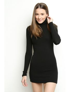 adalie-turtleneck-dress by brandy-melville