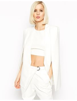 lavish-alice-collarless-cape-blazer by click-here-for-more-asos-exclusives