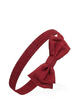 twill-bow-headband by forever-21