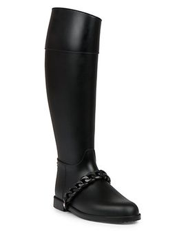 chain-rubber-rainboots by givenchy