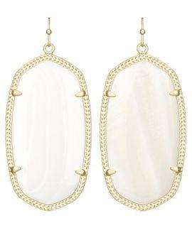 danielle-earrings-in-white-howlite by kendra-scott