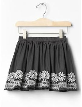embroidered-border-circle-skirt by gap