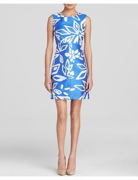 diane-von-furstenberg-dress by carrie-floral-print-sheath