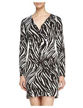 reina-tiger-shadow-caftan-dress,-black by diane-von-furstenberg