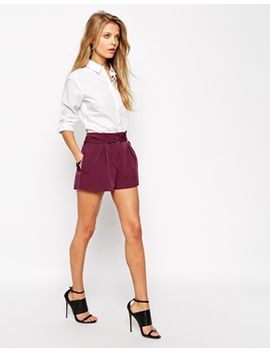 asos-shorts-with-d-ring-detail by asos-collection