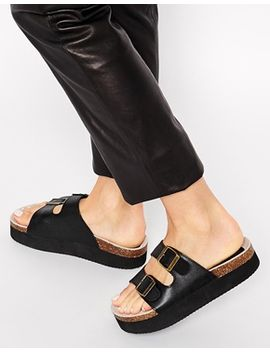 asos-future-two-buckle-sandals by asos-collection
