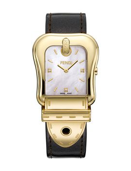 b-fendi-diamond-index-buckle-watch,-mother-of-pearl_black by fendi