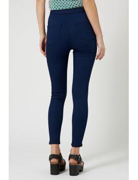 moto-indigo-blue-joni-jeans by topshop