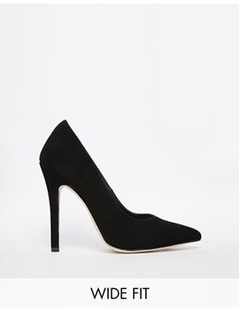 asos-positive-wide-fit-pointed-high-heels by asos-collection
