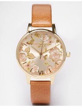 olivia-burton-parlour-camel-midi-dial-watch by olivia-burton
