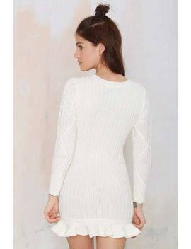 unif-alleger-sweater-dress by nasty-gal