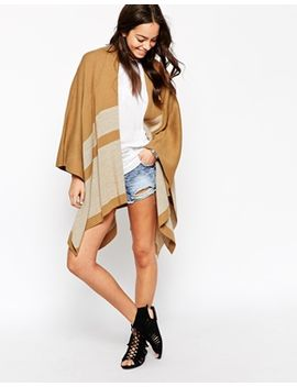 new-look-striped-blanket-cape by new-look