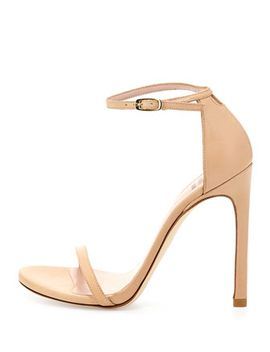 nudist-leather-ankle-strap-sandal,-adobe by stuart-weitzman