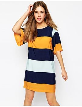 vero-moda-bold-stripe-t-shirt-dress by vero-moda