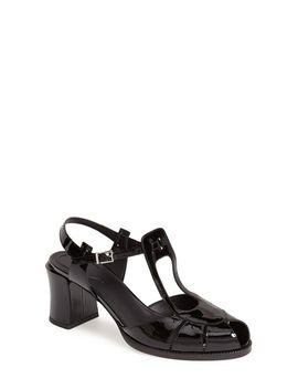 chameleon-ankle-strap-sandal by fendi