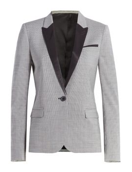 wool-houndstooth-blazer by the-kooples