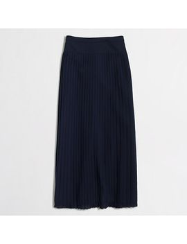 pleated-midi-skirt by jcrew