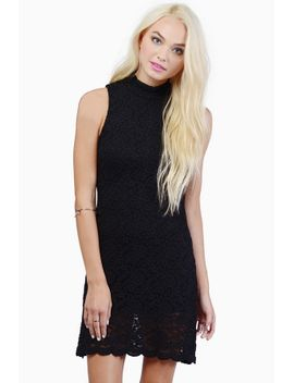 celeste-black-lace-bodycon-dress by tobi