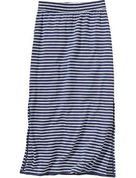 girls-striped-maxi-skirts by old-navy