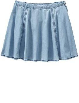 girls-chambray-circle-skirts by old-navy