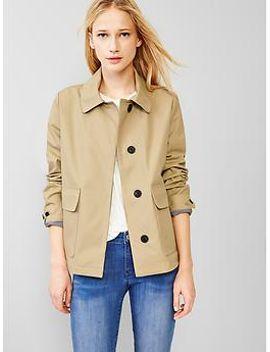 short-mac-coat by gap