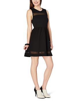 illusion-textured-skater-dress by rue21