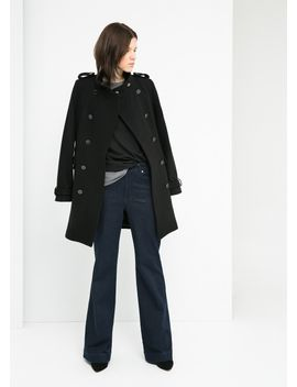 wool-blend-a-line-coat by mango