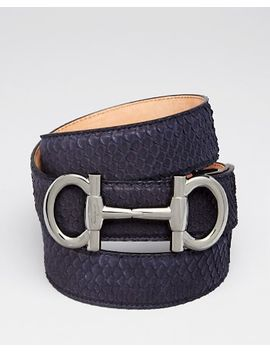 pitone-python-belt by salvatore-ferragamo